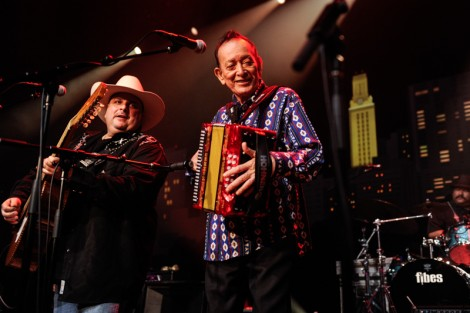 Flaco Jimenez.  Photo Credit to Scott Newton